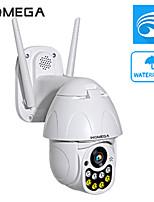 Недорогие -Inqmega 5-мегапиксельная PTZ IP-камера скорость купола Wi-Fi беспроводная сеть 5-кратный зум видеонаблюдения на открытом воздухе наблюдения водонепроницаемая камера