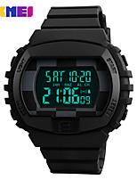 Недорогие -SKMEI Муж. электронные часы Цифровой силиконовый 30 m Защита от влаги Секундомер Новый дизайн Цифровой На открытом воздухе Мода - Черный Зеленый Синий