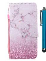 cheap -Case For Samsung Galaxy S10 / S10 Plus / S10 E Wallet / Card Holder / with Stand Full Body Cases Pink Marble PU Leather / TPU for A71 / A51 / A90 / A80 / A70 / A50 / A30S / Note 10 Plus / J6 Plus