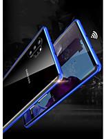 Недорогие -Кейс для Назначение SSamsung Galaxy Note 9 / Note 8 / Galaxy Note 10 Защита от удара Чехол броня Закаленное стекло