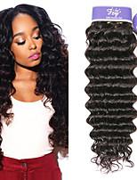 Недорогие -3 Связки Индийские волосы Крупные кудри человеческие волосы Remy 100% Remy Hair Weave Bundles Человека ткет Волосы Удлинитель Пучок волос 8-28 дюймовый Естественный цвет Ткет человеческих волос