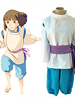 cheap -Inspired by Spirited Away Nigihayami Kohakunushi Anime Cosplay Costumes Japanese Cosplay Suits Coat Pants Underwear For Men's Women's / Belt
