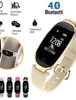 Недорогие -умный браслет s3 bt фитнес-трекер поддержка уведомить&Монитор сердечного ритма, совместимый с IOS / Android телефонов