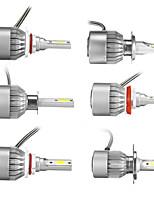 Недорогие -9v-36v h1 / h4 / h7 / h11 / 9005/9006 Светодиодные фары Набор для преобразования ламп белого света