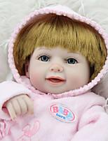 Недорогие -NPK DOLL Куклы реборн Куклы Девочки 18 дюймовый Безопасность Подарок Очаровательный Детские Универсальные Игрушки Подарок