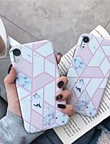 Недорогие -чехол для яблока iphone xs / iphone xr / iphone xs max рисунок задняя крышка мраморная тпу для iphone 6 6 плюс 6 с 6 с плюс 7 8 7 плюс 8 плюс х сс