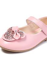 Недорогие -Девочки Детская праздничная обувь Полиуретан На плокой подошве Маленькие дети (4-7 лет) Золотой / Розовый / Светло-коричневый Лето