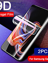 cheap -9d soft full cover hydrogel film for samsung galaxy s10 plus s10e s9 s8 plus note 9 8 clear screen protector 2pcs not glass