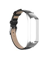 Недорогие -Ремешок для часов для Galaxy Fit E R375 Samsung Galaxy Классическая застежка Натуральная кожа Повязка на запястье
