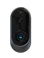 Недорогие -Интеллектуальный Wi-Fi беспроводной 2,4 г видео дверной звонок удаленного мониторинга дома программа Hisilicon голосовой домофон