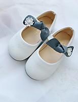 Недорогие -Девочки Детская праздничная обувь Полиуретан На плокой подошве Маленькие дети (4-7 лет) Белый / Розовый Лето