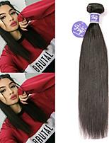 Недорогие -3 Связки Перуанские волосы Прямой человеческие волосы Remy 100% Remy Hair Weave Bundles Человека ткет Волосы Удлинитель Пучок волос 8-28 дюймовый Нейтральный Ткет человеческих волос
