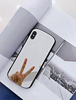 Недорогие -Кейс для Назначение SSamsung Galaxy S9 / S9 Plus / S8 Plus Зеркальная поверхность / Ультратонкий / С узором Кейс на заднюю панель Однотонный ТПУ