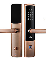 Недорогие -Factory OEM M6-ZM сплав цинка Замок / Блокировка отпечатков пальцев / Блокировка карты Умная домашняя безопасность система RFID / Отпирание отпечатка пальца / Разблокировка пароля