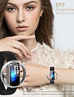Недорогие -Indear E99 Мужчина женщина Умный браслет Android iOS Bluetooth Водонепроницаемый Сенсорный экран Пульсомер Измерение кровяного давления Спорт