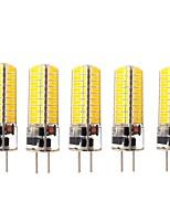Недорогие -5 шт. 3 W LED лампы типа Корн 170-200 lm GY6.35 72 Светодиодные бусины SMD 5730 Новый дизайн Декоративная Милый Тёплый белый Холодный белый 12-24 V