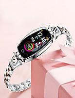 Недорогие -2019 новый фитнес-трекер водонепроницаемый умный часы шагомер h8 цветной экран монитор артериального давления / сердечного ритма умный браслет часы