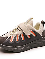 Недорогие -Девочки Удобная обувь Полиуретан Спортивная обувь Маленькие дети (4-7 лет) Беговая обувь Черный / Бежевый / Серый Лето