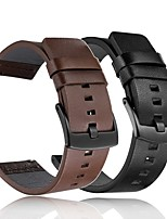 Недорогие -Ремешок для часов для Gear S3 Frontier / Gear S2 Samsung Galaxy Классическая застежка / Инструменты сделай-сам Натуральная кожа Повязка на запястье