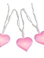 Недорогие -4 м 40 светодиоды любовь сердца свадьба строка фея свет рождества привели фея розовый девушка строка света крытый вечеринка сад гирлянды освещения