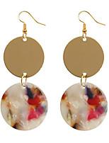 cheap -Women's Drop Earrings Earrings Simple Fashion Earrings Jewelry White / Black / Red For 1 Pair