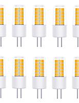 Недорогие -YWXLIGHT® 10 шт. 3 W Двухштырьковые LED лампы 270 lm G4 T 20 Светодиодные бусины SMD 2835 Тёплый белый Холодный белый Естественный белый 12 V