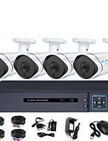 Недорогие -AXD 4-канальный коаксиальный HD DVR мониторинга комплект магазин инфракрасного ночного видения монитор одной машины