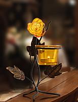 Недорогие -Современный современный Железо Подсвечники Канделябр 1шт, Свеча / подсвечник