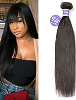 Недорогие -3 Связки Малазийские волосы Прямой человеческие волосы Remy 100% Remy Hair Weave Bundles Человека ткет Волосы Удлинитель Пучок волос 8-28 дюймовый Нейтральный Ткет человеческих волос / Glueless