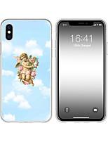 Недорогие -чехол для iphone x xs max xr xs чехол назад мягкий чехол tpu творческий рисунок купидон мягкий чехол для iphone5 5s se 6 6p 6s sp 7 7p 8 8p16 * 8 * 1