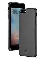 Недорогие -чехол для apple iphone 8 plus / iphone 8 / iphone 7 plus / iphone 7 / iphone 6 plus ультратонкая задняя крышка из натуральной кожи