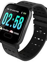 Недорогие -Litbest A6 Smart Watch BT Поддержка фитнес-трекер уведомить / монитор сердечного ритма Спорт Bluetooth SmartWatch совместимые телефоны IOS / Android