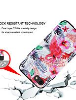 Недорогие -Кейс для Назначение Apple iPhone XS / iPhone XR / iPhone XS Max Защита от удара Кейс на заднюю панель Животное / Цветы ПК