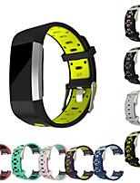 Недорогие -силиконовый ремешок для зарядки fitbit 2 замена двухцветный спортивный браслет ремешок ремешок для зарядки fitbit 2 ремешок для часов