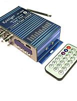 Недорогие -Автомобильный bluetooth usb fm усилитель мощности бытовой 12v 3a мини hi-fi стерео аудио усилитель с поддержкой дистанционного управления fm / mp3 / sd / usb / dvd