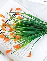 Недорогие -Искусственные Цветы 1 Филиал Классический Деревня Modern Калла Букеты на стол