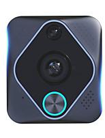 Недорогие -X6 1080 P 180 градусов Панорама Wi-Fi Интеллектуальный электронный водонепроницаемый видео дверной звонок камера поддержка мобильного телефона