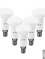 Недорогие -EXUP® 5 шт. 7 W Точечное LED освещение 630 lm E14 12 Светодиодные бусины SMD 2835 Декоративная Тёплый белый Холодный белый 220-240 V
