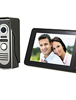 Недорогие -620m11 проводной будильник / встроенный динамик / камера 7-дюймовый громкой связи 800 * 480 пикселей один на один видео домофон