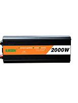 Недорогие -suredom автомобильный инвертор постоянного тока 12 В переменного тока 220 В / постоянного тока 24 В переменного тока 220 В / постоянного тока 12 В переменного тока 110 В 12/24 В 2000 Вт для