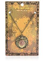 Недорогие -Жен. Ожерелья с подвесками Хром Античная бронза 55 cm Ожерелье Бижутерия 1шт Назначение фестиваль