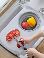 Недорогие -сливная корзина разделочная доска корзина для фильтра держатель для овощей и фруктов разделочная доска