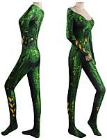 Недорогие -Вдохновлен Косплей Косплей Аниме Косплэй костюмы Японский Косплей Костюмы трико / Комбинезон-пижама Назначение Жен.