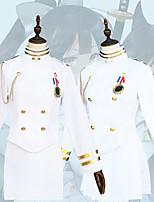 Недорогие -Вдохновлен Azur Lane Косплей Аниме Косплэй костюмы Японский Косплей Костюмы Кофты / Юбки / Перчатки Назначение Жен.