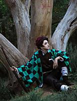 Недорогие -Вдохновлен Косплей / Убийца Демонов: Кимэцу но Яиба Косплей Аниме Косплэй костюмы Японский Косплей Костюмы Пальто / Кофты / Брюки Назначение Муж.