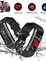 Недорогие -R1 смарт-браслет Bt фитнес-трекер поддержка уведомлять / монитор сердечного ритма водонепроницаемый спортивные SmartWatch совместимые телефоны IOS / Android