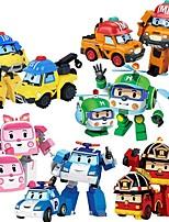 Недорогие -Игрушечные машинки Полицейская машинка Машина скорой помощи Креатив Взаимодействие родителей и детей Полипропилен + ABS Детские Игрушки Подарок