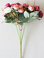 Недорогие -Искусственные Цветы 2 Филиал Классический европейский Пастораль Стиль Розы Вечные цветы Букеты на стол