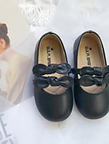 Недорогие -Девочки Удобная обувь Полиуретан На плокой подошве Маленькие дети (4-7 лет) Черный / Желтый / Красный Лето