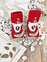 Недорогие -Девочки Обувь для малышей Трикотаж На плокой подошве Малыш (9м-4ys) Темно-синий / Красный / Зеленый Лето